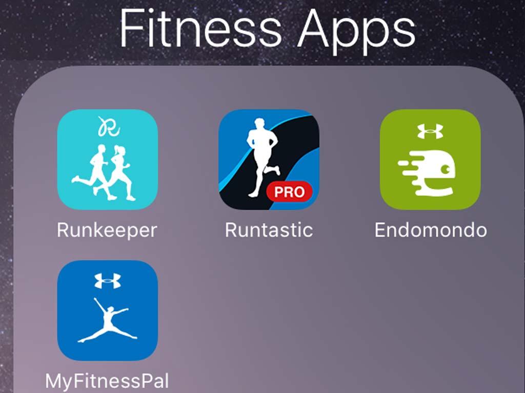 Übernommene Lauf Apps